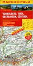 Rakousko -3- Vorarlberg,Tirol,Oberbayern, Südtirol - mapa Marco Polo - 1:200 000