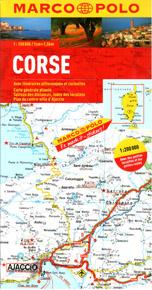 Korsika - mapa Marco Polo - 1:200 000