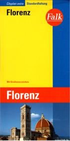 Florencie - plán Falk - 1:15 000 /Itálie/