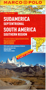 Amerika jižní - jih - mapa MP - 1:4M