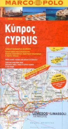 Kypr - mapa Marco Polo - 1:200 000