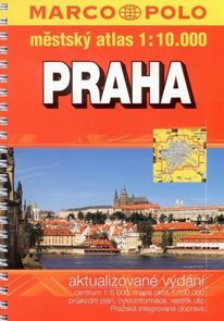 Praha - atlas 1:10 000 - Marco Polo - vydání 2010