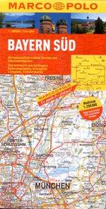 Německo - Bavorsko jih - automapa Marco Polo 1:200 000