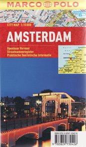 Amsterdam - plán  města 1:15 000