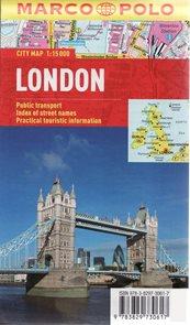 Londýn - plán města 1:15 000