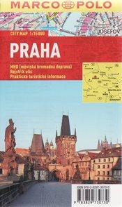 Praha -  plán města 1:15 000