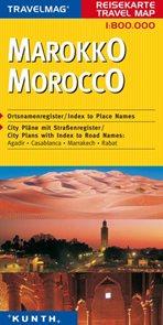 Maroko -  mapa Kunth - 1:800t.