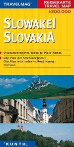 Slovensko -  mapa Kunth - 1:300t.