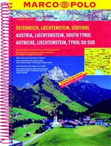 Rakousko, Liechtenstein, Südtirol/atlas-sešit 1:200 000 MD