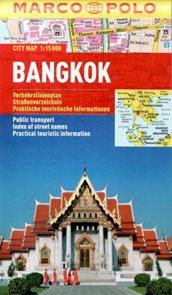 Bangkok - městský kapesní plán 1:15 tis.
