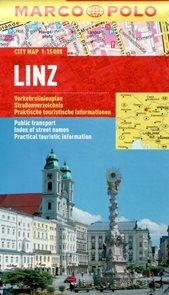 Linz - městský kapesní plán 1: 15 tis.