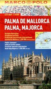 Palma de Mallorca - městský kapesní plán 1: 15 tis.