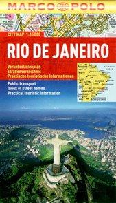 Rio de Janeiro - městský kapesní plán 1: 15 tis.