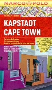 Kapstadt Cape Town - městský kapesní plán 1: 15 tis.