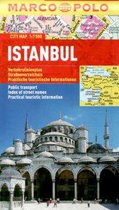 Istanbul - městský kapesní plán 1: 7,5 tis.