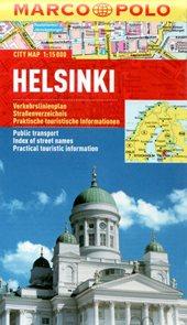 Helsinki - městský kapesní plán 1: 15 tis.