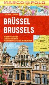 Brusel - městský kapesní plán 1: 15 tis.