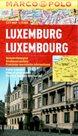 Luxemburg - městský kapesní plán 1: 15 tis.