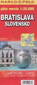 Slovensko a Bratislava automapa 1:500 tis.