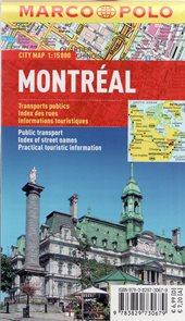 Montreal - kapesní městský plán 1:15 tis.