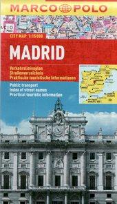 Madrid - kapesní městský plán 1:15 tis.