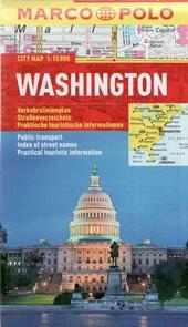 Washington - kapesní městský plán 1: 15 tis.