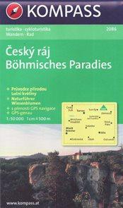Český ráj 1: 50 000 mapa Kompass