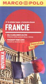 Francie - turistický průvodce se skládací mapou
