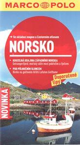 Norsko - turistický průvodce se skládací mapou