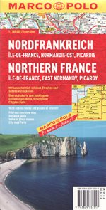 Severní Francie, Normandie východ 1: 300 000