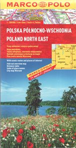 Polsko severovýchod mapa Marco Polo 1: 300 000