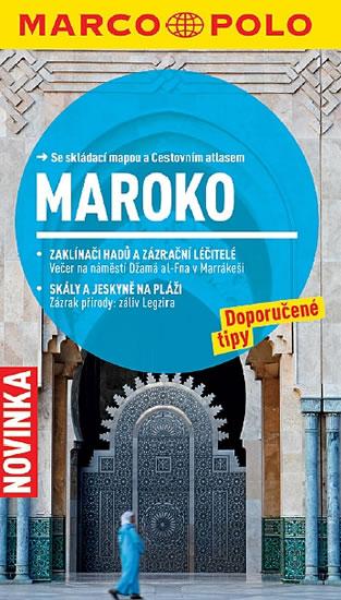 Maroko - cestovní průvodce s mapou - 11x19
