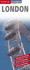 London / Londýn - mapa Kunth-flexi - 1:15 000