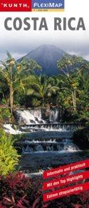 Costa Rica / Kostarika - mapa Kunth-flexi - 1:850 000