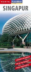 Singapur - mapa Kunth-flexi - 1:12 500