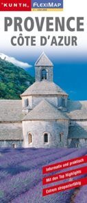 Provence Cote D´Azur - mapa Kunth-flexi - 1:350 000