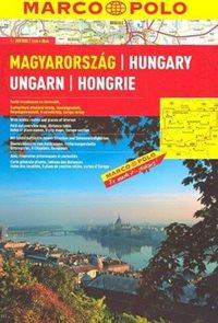 Maďarsko 1:300 000 - autoatlas