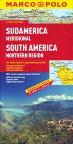 Jižní Amerika - sever - mapa MP 1:4M