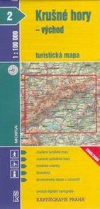 Krušné hory - východ - mapa KP č.2 - 1:100t