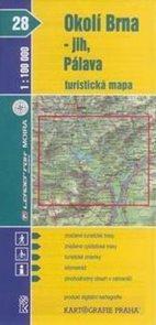 Okolí Brna - jih, Pálava - mapa KP č.28 - 1:100t