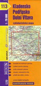 Kladensko, Podřipsko, dolní Vltava - cyklo KP č.113 - 1:70t