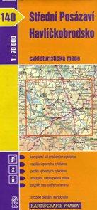 Střední Posázaví - Havlíčkobrodsko - cyklo KP č.140 - 1:70t