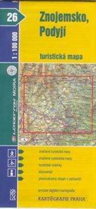 Znojemsko, Podyjí - mapa KP č.26 - 1:100t