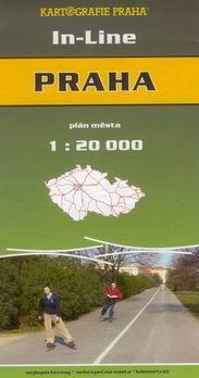 Praha - in-line - plán města 1:20t - KartografiePraha