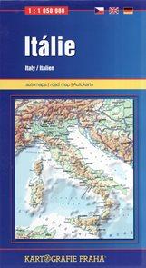 Itálie 1:1 050 000-automapa