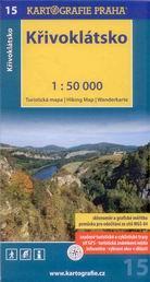 Křivoklátsko - mapa Kartografie č.15 - 1:50 000