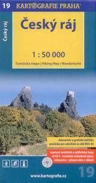 Český ráj - mapa Kartografie č.19 - 1:50 000