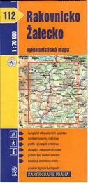 Rakovnicko, Žatecko - cyklo KP č.112 - 1:70t