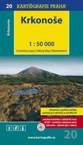 Krkonoše - mapa Kartografie č.20 - 1:50 000