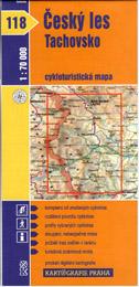 Český les - Tachovsko - cyklo KP118 - 1:70t
